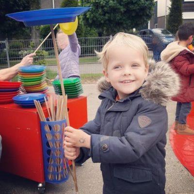 circus kinderfeestje thuis vieren amsterdam