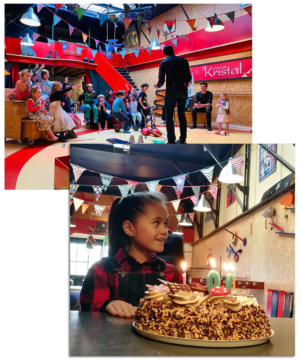 circus-verjaardagsfeestje